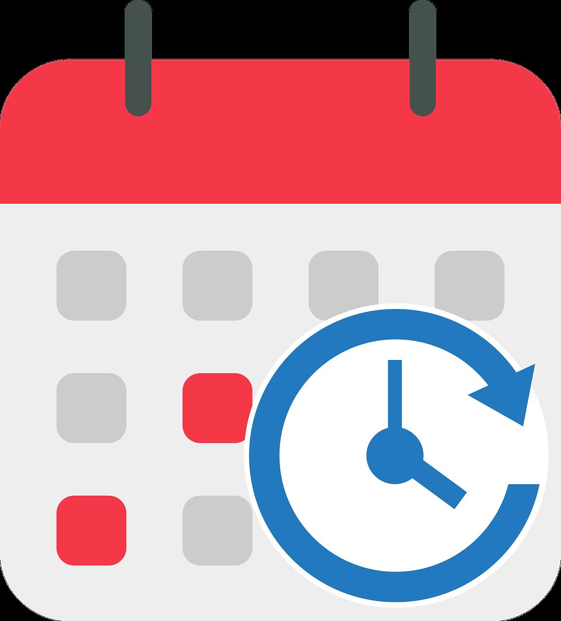 Calendar Schedule Monthly Calendar  - Dorigo / Pixabay